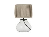 Mini Bessy glass based bedside lamp
