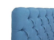 Tall Billow deep button back headboard