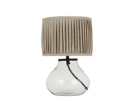 Mini Bessy Table Lamp with Natural shade