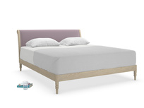 Superking Darcy Bed in Lavender brushed cotton