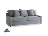 Large Cloud Sofa in Dove grey wool