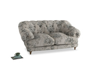 Small Bagsie Sofa in Dusty Blue vintage rose