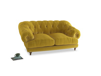 Small Bagsie Sofa in Bumblebee clever velvet