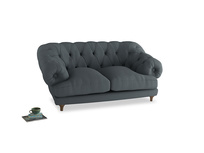 Small Bagsie Sofa in Meteor grey clever linen