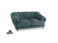 Small Bagsie Sofa in Marine washed cotton linen