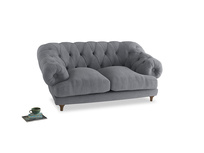 Small Bagsie Sofa in Dove grey wool