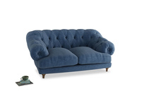 Small Bagsie Sofa in Hague Blue cotton mix