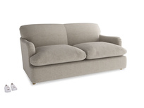 Medium Pudding Sofa Bed in Birch wool