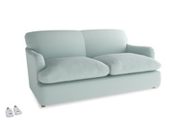 Medium Pudding Sofa Bed in Gull's Egg Brushed Cotton