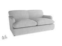 Medium Pudding Sofa Bed in Pebble vintage linen