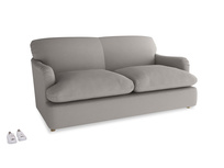 Medium Pudding Sofa Bed in Safe grey clever linen
