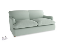 Medium Pudding Sofa Bed in Sea surf clever cotton