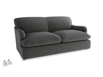 Medium Pudding Sofa Bed in Shadow Grey wool