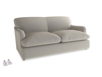 Medium Pudding Sofa Bed in Smoky Grey clever velvet