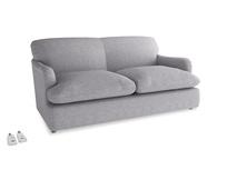 Medium Pudding Sofa Bed in Storm cotton mix