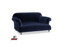 Small Soufflé Sofa in Midnight plush velvet