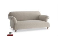 Medium Soufflé Sofa in Birch wool