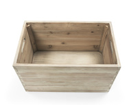 Lugger wooden storage stool