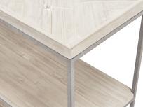 Nosy Parker parquet wood console table