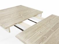 Toaster vintage white kitchen table extendable