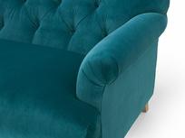 Truffle deep seated button sofa