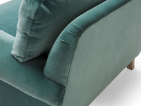 Slowcoach deep seated upholstered armchair