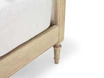 Mirabelle wooden french bed