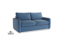 Chatnap Storage Sofa in Hague Blue cotton mix with both arms