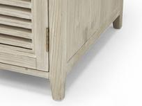Scribble desk in reclaimed fir