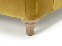 Truffle button back armchair
