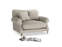 Beautiful Crumpet British made luxury snuggler sofa and love seat