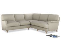 Comfy L-shaped Jonesy corner sofa