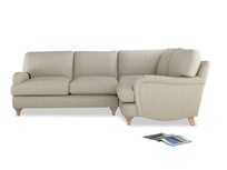 Classic L-shaped Jonesy corner sofa