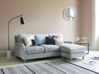 Handmade Pavlova chaise sofa
