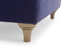 Jammy Dodger upholstered classic large handmade footstool