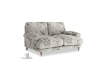 Small Slowcoach Sofa in Dusty Blue vintage rose