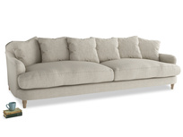 Extra large Achilles Sofa in Thatch house fabric