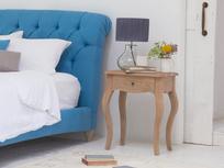 Mimi reclaimed wooden bedside table