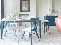 Park Up extending painted kitchen table