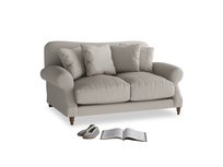 Small Crumpet Sofa in Sailcloth grey Clever Woolly Fabric