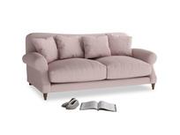 Medium Crumpet Sofa in Potter's pink Clever Linen