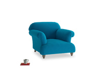 Soufflé Armchair in Bermuda Brushed Cotton