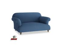 Small Soufflé Sofa in True blue Clever Linen