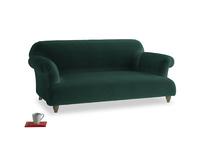 Medium Soufflé Sofa in Dark green Clever Velvet