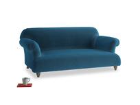 Medium Soufflé Sofa in Twilight blue Clever Deep Velvet