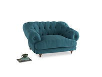 Bagsie Love Seat in Lido Brushed Cotton