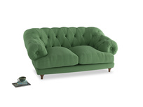 Small Bagsie Sofa in Clean green Brushed Cotton