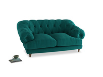 Small Bagsie Sofa in Indian green Brushed Cotton
