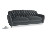 Large Butterbump Sofa in Dark grey Clever Deep Velvet