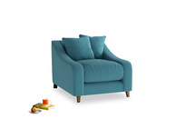 Oscar Armchair in Lido Brushed Cotton